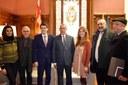 L'alcalde de Tetuan, rebut a l'Ajuntament d'Igualada