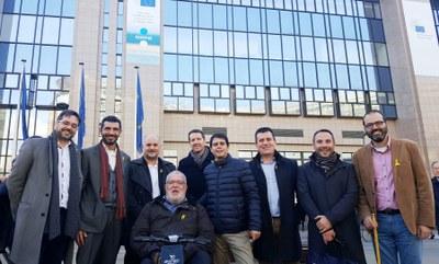 L'alcalde d'Igualada, a Brussel·les amb l'ACM i l'AMI