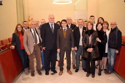 Les ciutats agermanades de Lecco i Aksakovo visiten Igualada