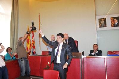 Marc Castells, investit nou alcalde d'Igualada