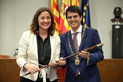 Marc Castells, nou president de la Diputació de Barcelona