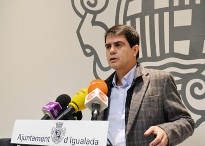 Marc Castells valora la denúncia per la moció sobiranista aprovada al ple