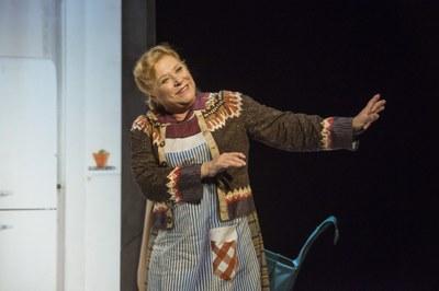 Mercè Arànega porta 'Shirley Valentine' a l'Ateneu
