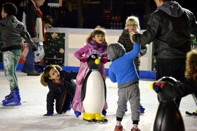 Més de 9.400 patinadors a la pista de gel d'Igualada