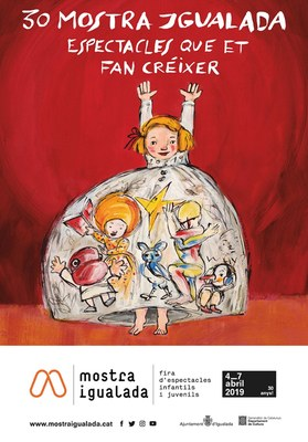 Mostra Igualada presenta el cartell de la 30a edició, obra de Carme Solé Vendrell