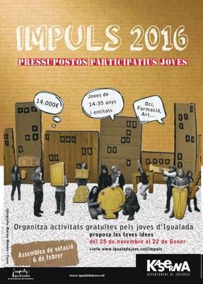 Nou pressupost participatiu de Joventut