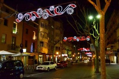 Nous ajuts per guarniments de Nadal a la via pública