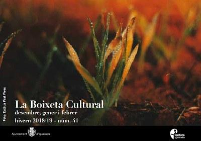Nova Boixeta Cultural per als mesos d'hivern 2018-2019