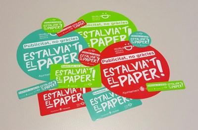 Nova campanya per reduir la publicitat en paper