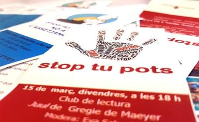 """Noves iniciatives """"Stop, tu pots"""" contra l'assetjament escolar"""