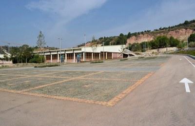 Obre el nou pàrquing de la piscina de Les Comes