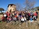 Passejades de la gent gran d'Igualada al mes de febrer