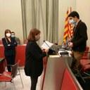 Presa de possessió de la regidora Montserrat Duch i aprovació de la modificació del cartipàs municipal