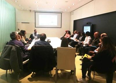 Presentació de l'Igualada Fashion Lab a les entitats locals