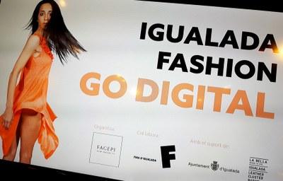 Presentació de la iniciativa 'Igualada Fashion Go Digital'