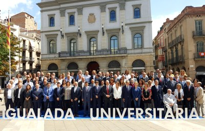 Presentació del pla estratègic Campus d'Igualada - UdL