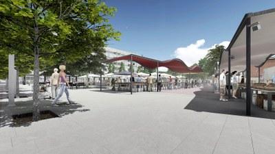 Projecte de remodelació de la Plaça de la Masuca