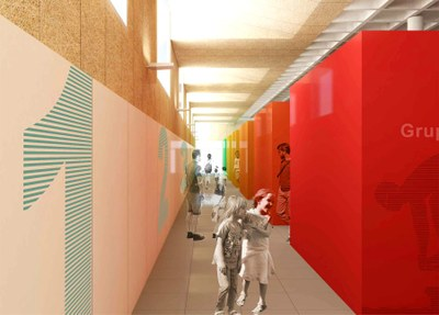 Projecte per a la reforma dels vestidors de la piscina de Les Comes
