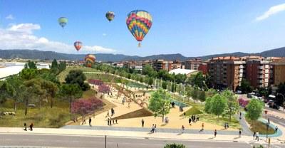 Projecte per a un nou gran parc a l'Avinguda Catalunya