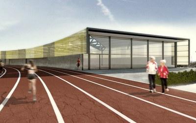 Projecte per dotar l'estadi d'un espai cobert d'entrenament