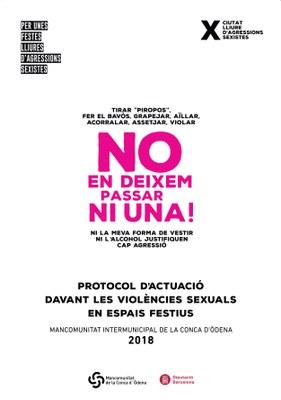 Protocol de la MICOD davant violències sexuals en espais festius