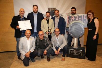 Ràdio Igualada recull el Premi Ràdio Associació en 'Innovació'