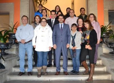 Recepció als estudiants mexicans del Màster en Enginyeria del Cuir