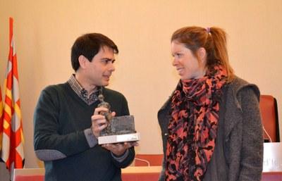 Reconeixement institucional a Laura Orgué