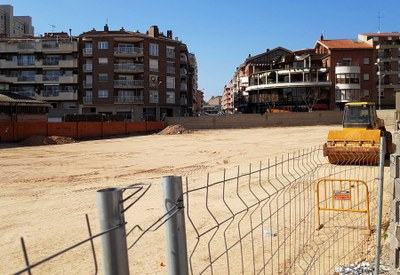 Acaba la primera fase de treballs a la zona blanca de la Sagrada Família