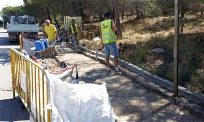 Rehabilitació de les voreres de Sant Jaume Sesoliveres