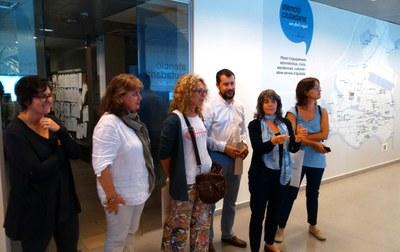 El Consell Comarcal de l'Alt Penedès visita l'OAC d'Igualada