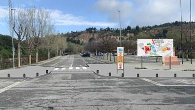 S'inicien les obres per tancar perimetralment la Ciutat Esportiva de Les Comes i evitar-hi l'incivisme