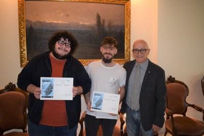 Sebastián Arce Gerecz i Adrián Haro guanyen  el premi Igual'ART 2019/20 amb el projecte  'Magnòlia'