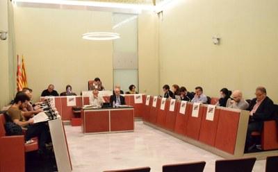 Sessió ordinària de ple, desembre de 2017