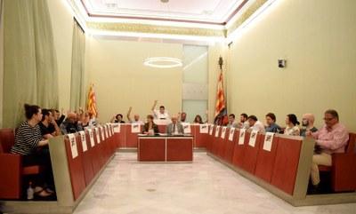 Sessió ordinària de ple, setembre de 2018