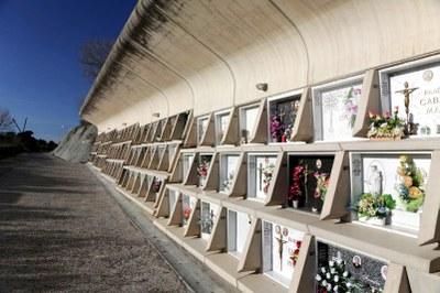 Tots Sants als cementiris d'Igualada
