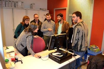 Una delegació de l'Ajuntament de Montblanc visita l'OAC