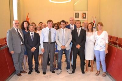 Visita de representants de Lecco i Guimaraes