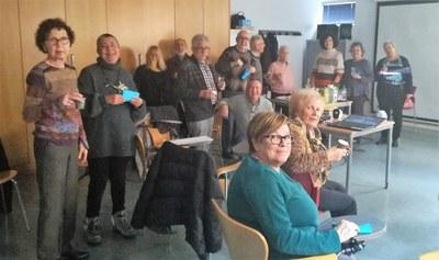 Cloenda del grup de suport a persones cuidadores de familiars en situació de dependència