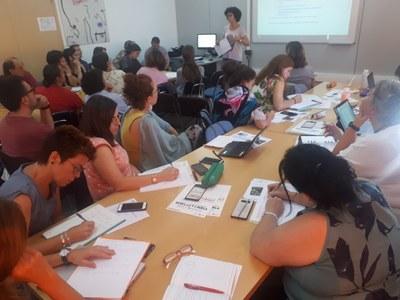 """Presentació de la iniciativa """"Aules amb tracte"""" a les direccions dels centres educatius de l'Anoia"""