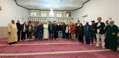 Visita a la mesquita d'Igualada