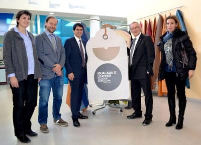 Els adobers lluiran la marca Igualada Leather Cluster Barcelona