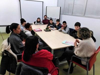 Les cooperatives del programa 'Cultura emprenedora a l'escola' visiten IG-Nova