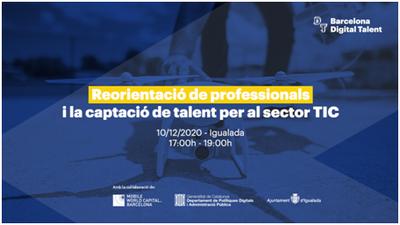"""Taller virtual """"Reorientació de professionals i captació de talent per al sector TIC"""""""