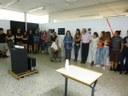 """Inaugurada l'exposició """"L'origen de la forma"""" a l'Escola Municipal d'Art Gaspar Camps"""