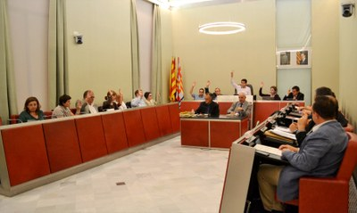 L'Ajuntament aprova ordenances i pressupost per l'any 2015