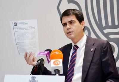 L'alcalde reclama a l'Estat el pagament íntegre del deute amb el CSSI