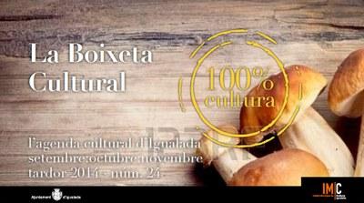 180 propostes en la nova Boixeta Cultural de tardor