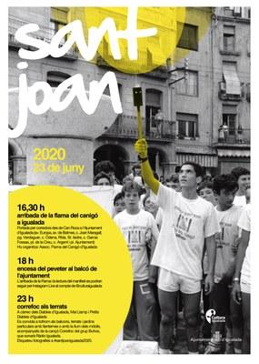 L'Ajuntament convida la ciutadania a celebrar la nit de Sant Joan des dels balcons