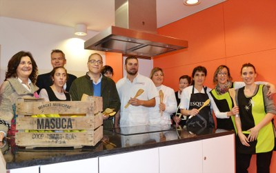 Nova Aula de Cuina al mercat de La Masuca